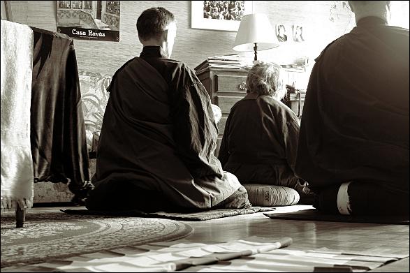 Zazen du samedi matin - dojo Zen Paris
