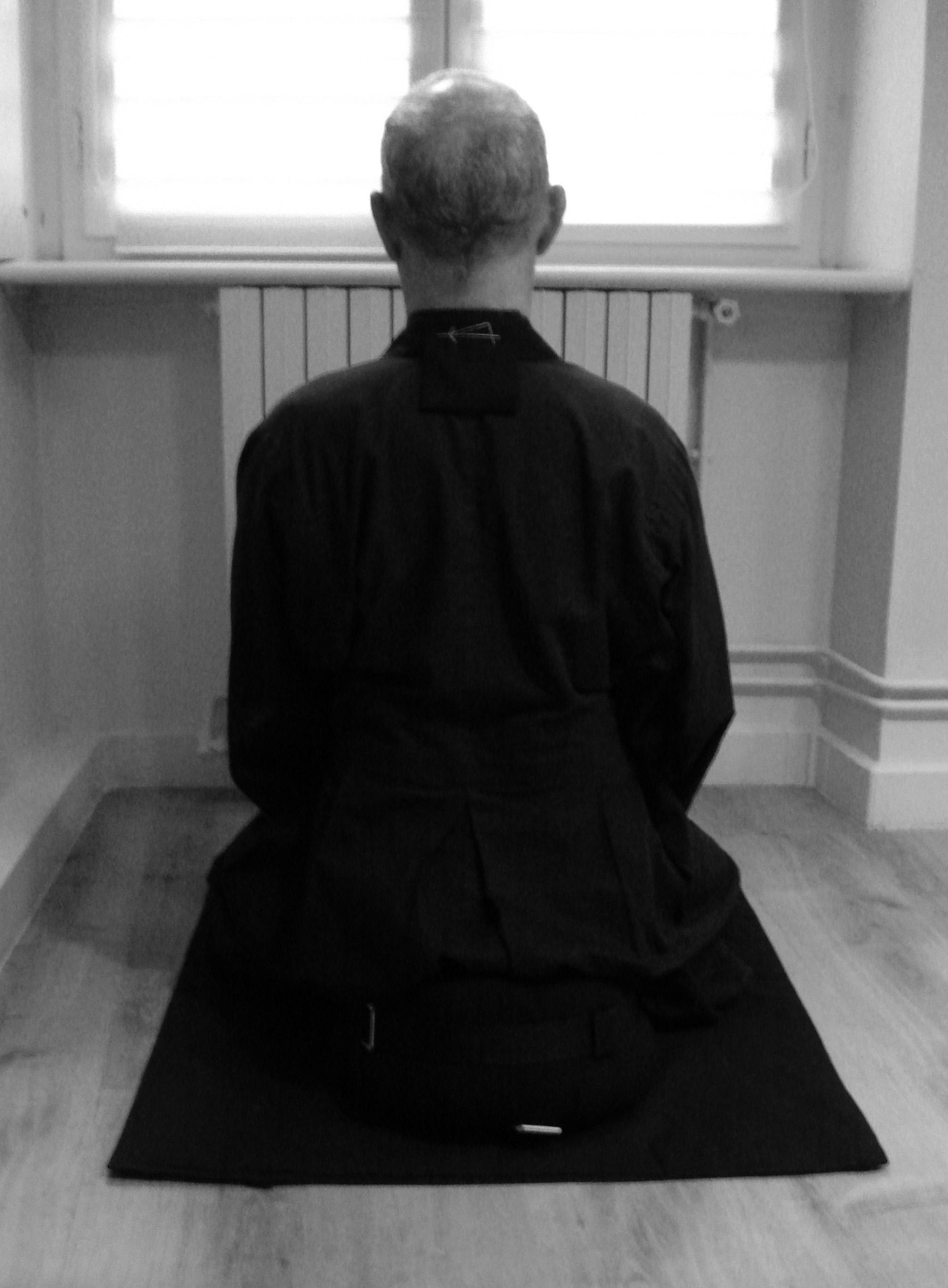 Pratiquant Zen
